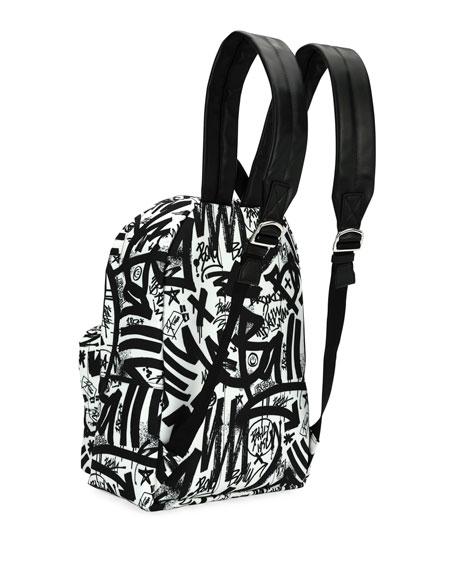 Wolfson Graffiti Nylon Backpack