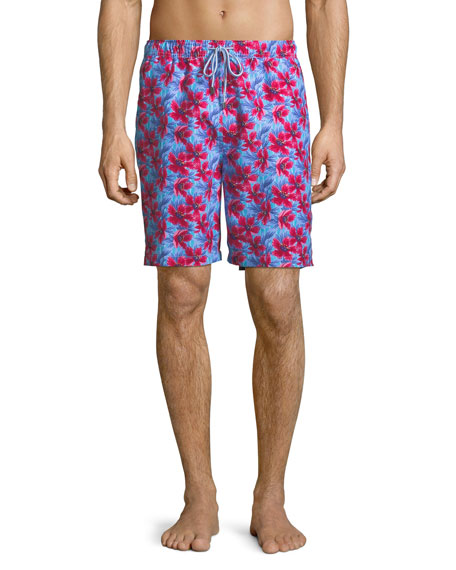 Spanish Flowers Swim Trunks