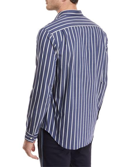 Vince Column Striped Sport Shirt