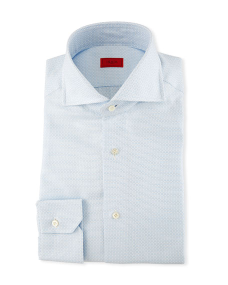 Image 1 of 2: Textured Jacquard Dress Shirt
