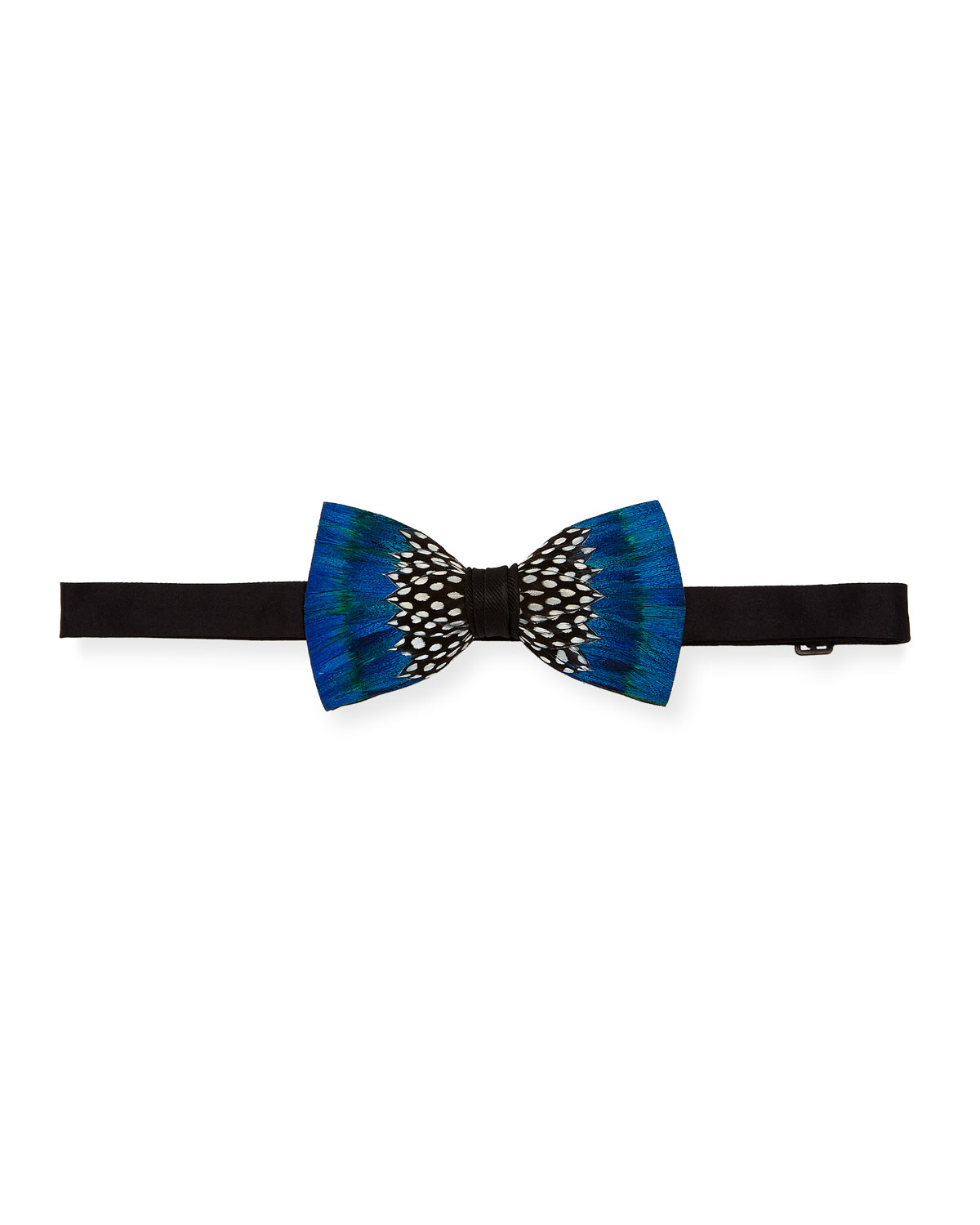 Brackish Bowties Durham Feather Formal Bow Tie