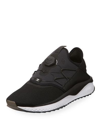 Men's Tsugi Disc Runner Sneaker, Black