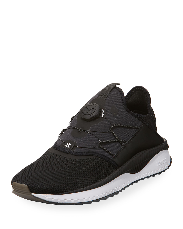 san francisco 4b6cc 7e16e Puma Men s Tsugi Disc Runner Sneakers, Black