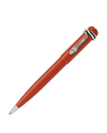 Montblanc Heritage Rouge et Noir Collection Ballpoint Pen, Coral