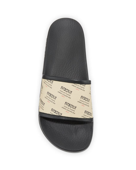 Gucci Invite Print Slide
