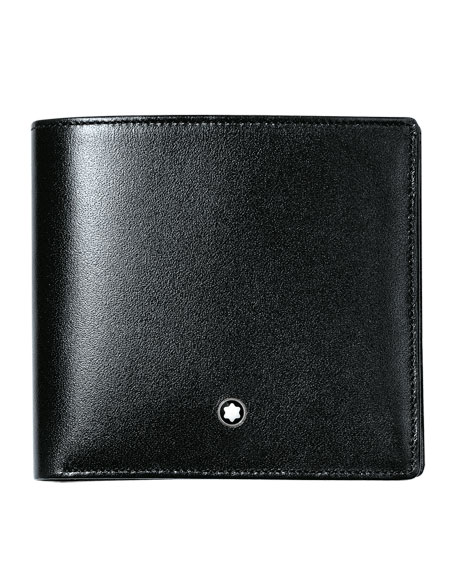 Montblanc Slim Leather Bifold Wallet