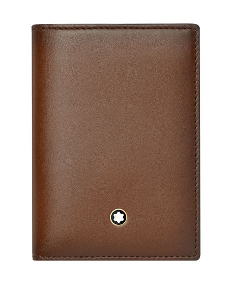 Montblanc Meisterstuck Sfumato Leather Business Card Holder,