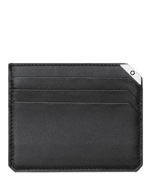93fc09b43911 Meisterstuck Leather Bifold Wallet, Black. $415 · Montblanc Urban Spirit  Leather Card Case
