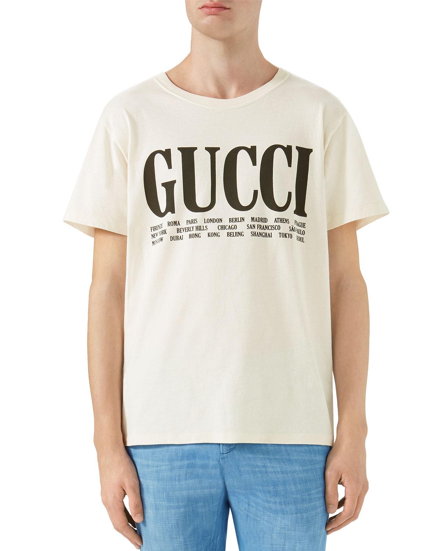 8966859009e Gucci Big Vintage Logo T-Shirt