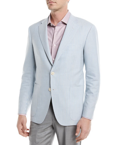 Striped Sport Coat