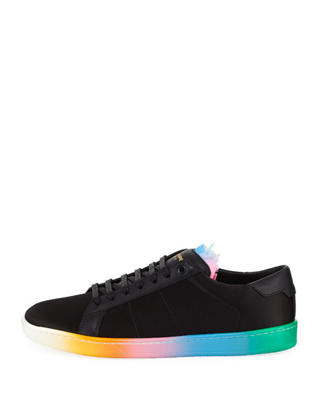 Men's SL01 Court Classic Ombre Low-Top Sneakers