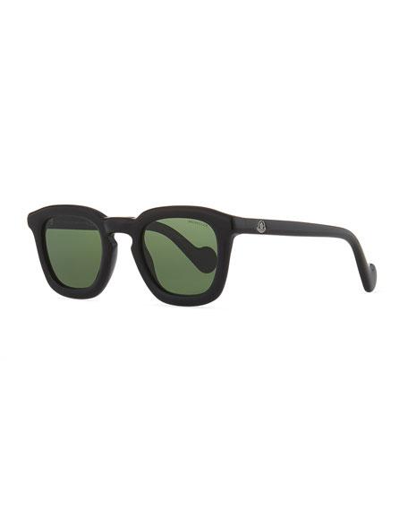 Moncler Square Plastic Universal Fit Sunglasses
