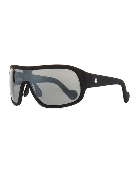 Moncler Plastic Shield Sunglasses