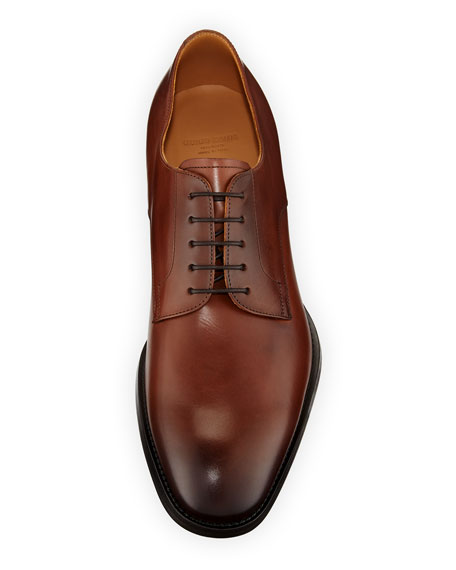 Men's York Smooth Leather Derby Oxfords