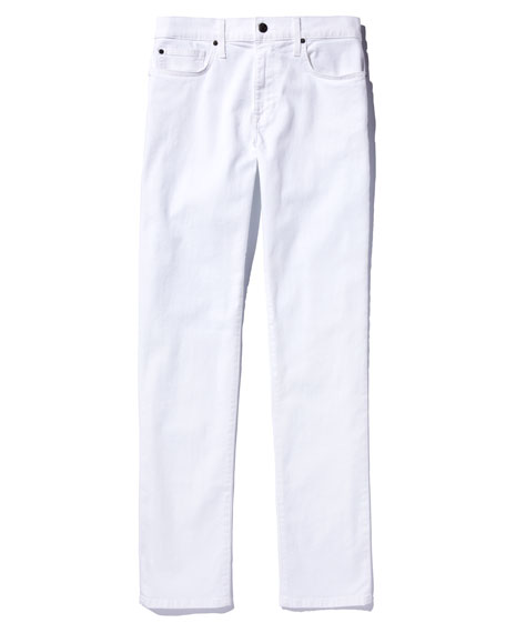 Image 5 of 5: Joe's Jeans Men's Brixton Slim-Straight Jeans, White
