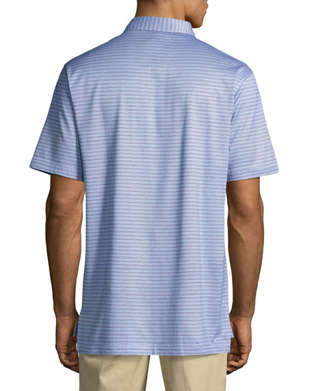 Crown Hickory Striped Polo Shirt