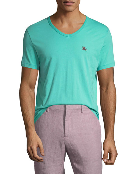 Jadford V-Neck Cotton T-Shirt