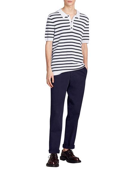 Kinsley Striped Polo Shirt
