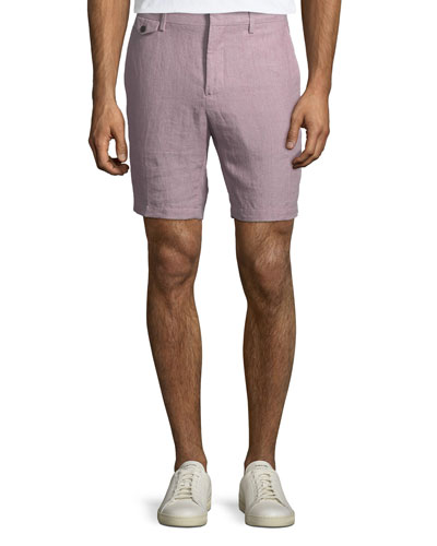Soho Linen Trouser Shorts