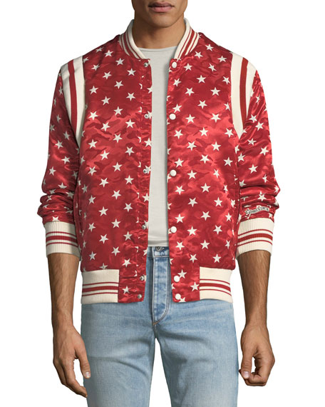 Ball Star Satin Bomber Jacket and Matching Items