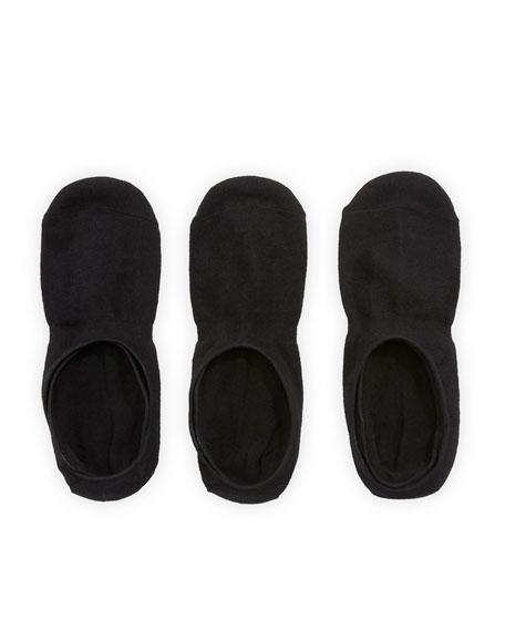 Neiman Marcus Men's Three-Pack No-Show Socks