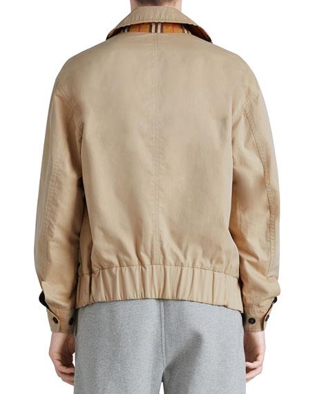 Harrington Reversible Zip-Front Coat