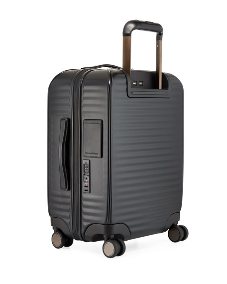 Image 3 of 3: Hard-Side Trolley Spinner Luggage