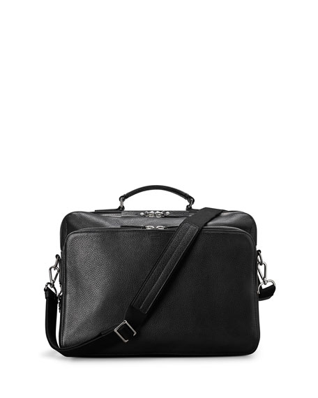 Men's Canfield Luxe Grain Leather Briefcase
