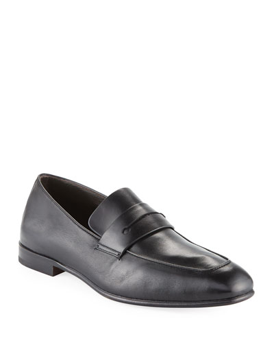 Lasola Soft Napa Leather Penny Loafer
