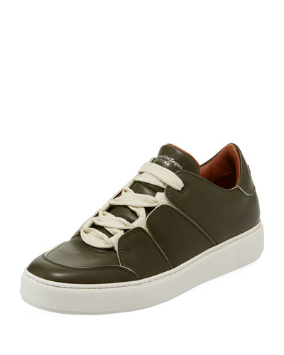 Tiziano Men's Leather Low-Top Sneaker