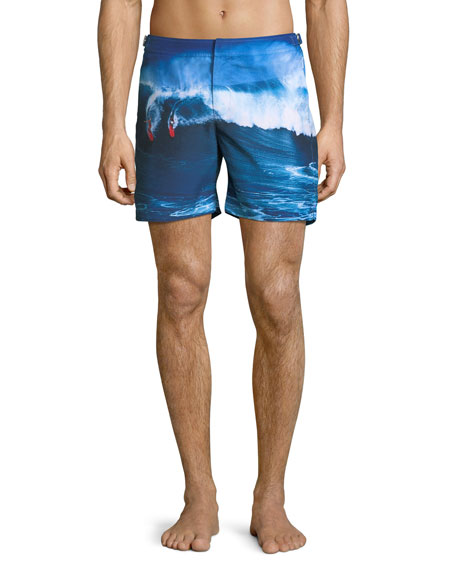 Bulldog Surfer Wave Swim Trunks