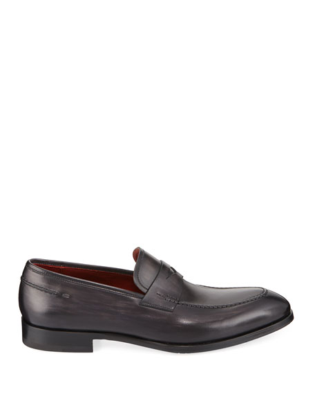 Smooth Leather Penny Loafer