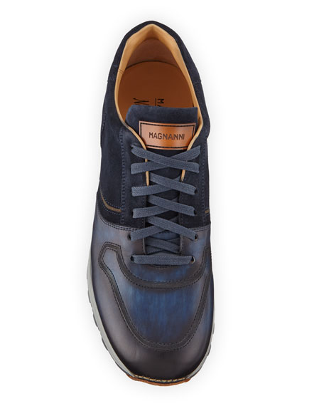 Men's Leather & Suede Sneakers