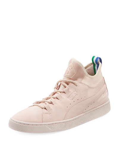 x Big Sean Suede 50 Mid-Top Sneaker