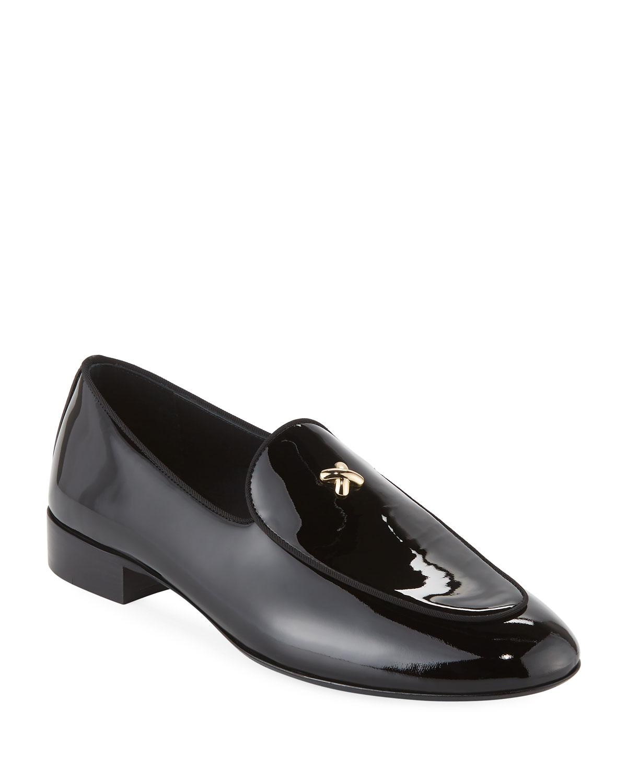 68ffcdff092 Giuseppe Zanotti Men s X Patent Leather Formal Loafer