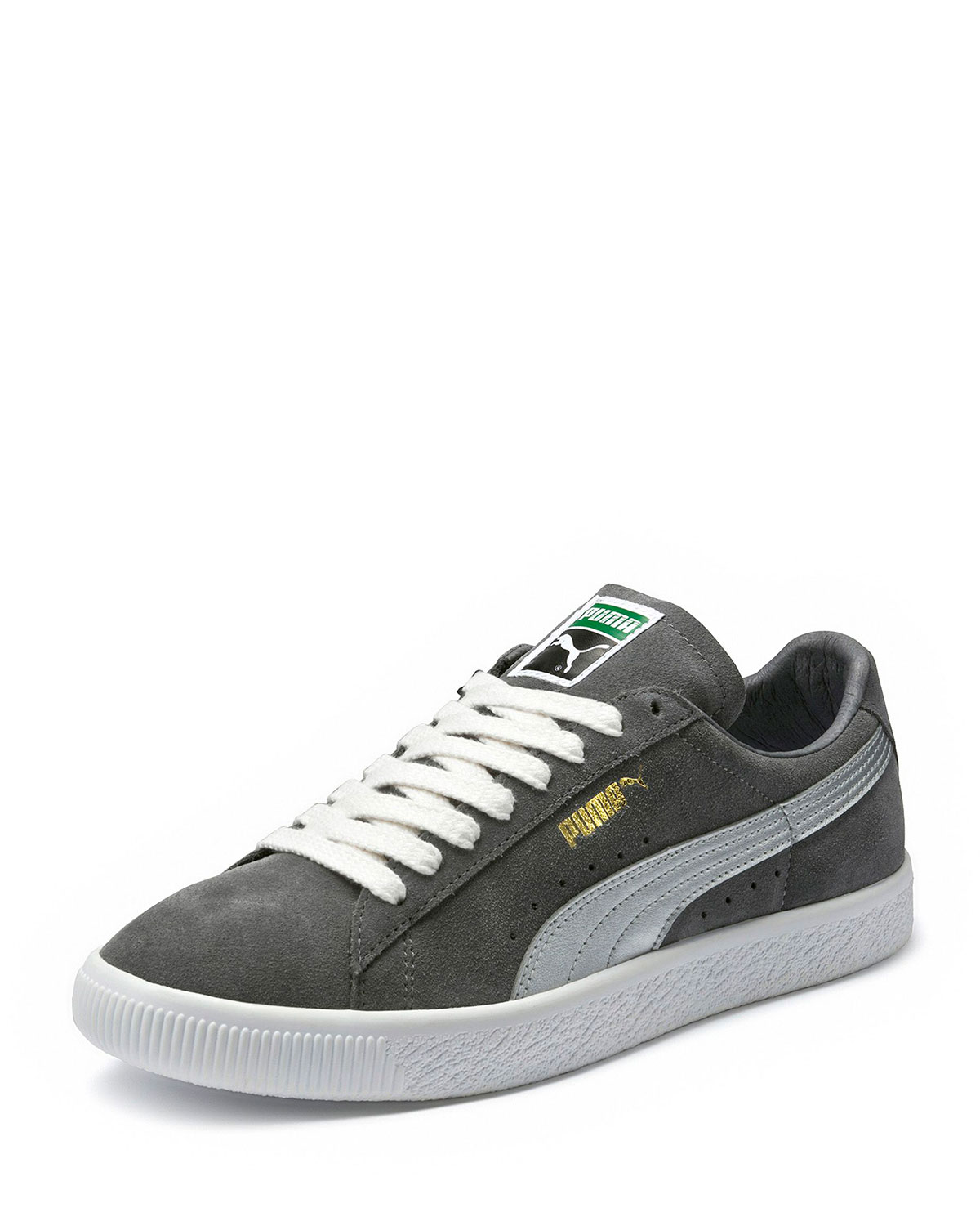 Puma Men s Clyde Suede Platform Low-Top Sneakers  8bc8f371d