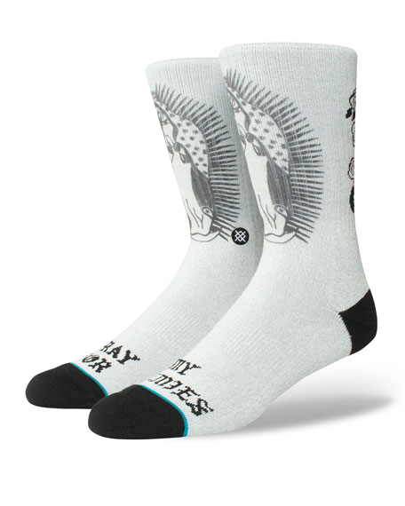 Men's Pray For Enemies Socks