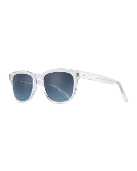 Barton Perreira Men's Coltrane Crystal Polarized Sunglasses