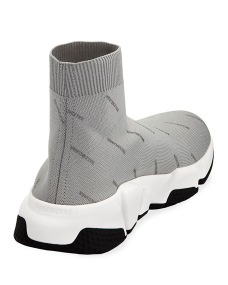 Men's Speed Mid-Top Sock Sneakers