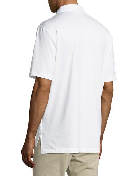 E4 Midnight Stretch Polo Shirt