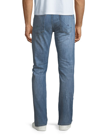 Image 2 of 3: Hudson Men's Byron Classic Straight-Leg Jeans, Transfer