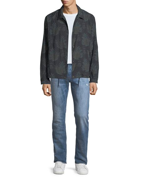 Image 3 of 3: Hudson Men's Byron Classic Straight-Leg Jeans, Transfer
