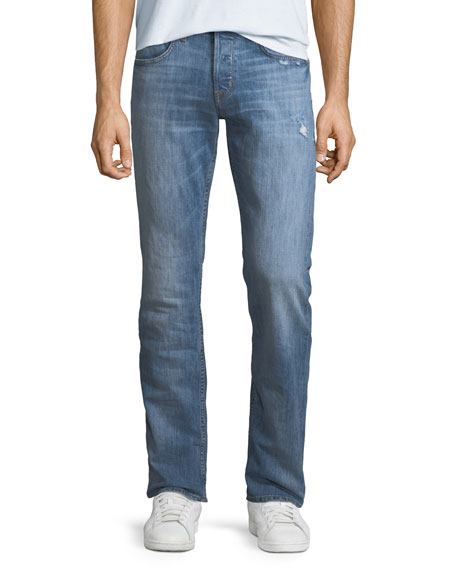 Image 1 of 3: Hudson Men's Byron Classic Straight-Leg Jeans, Transfer