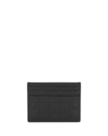 Men's Firenze Gamma Leather Flat Card Case
