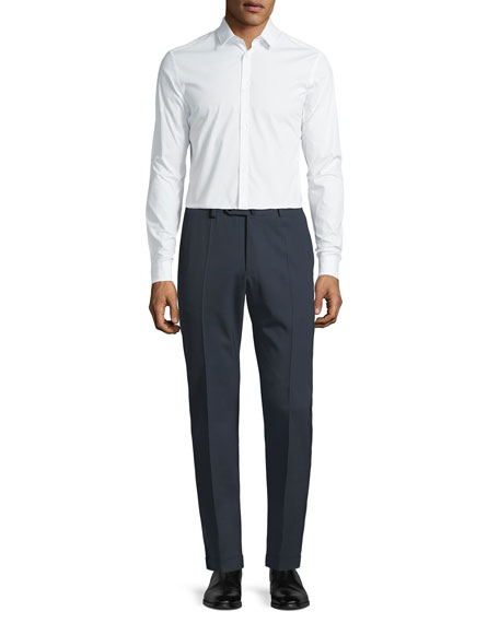Men's Benson Crepe Wool Comfort Trousers