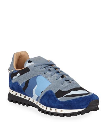 Men's Rockrunner Camo Trainer Sneaker