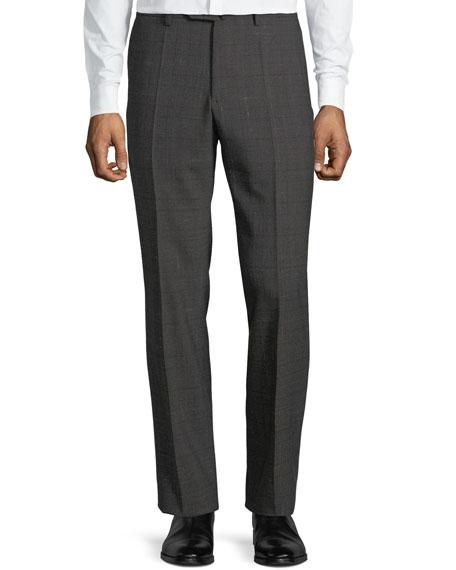 Incotex Men's Benson Check Wool Pants