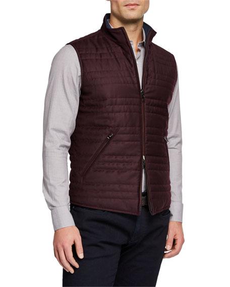 Men's Marlin Reversible Zip-Front Vest
