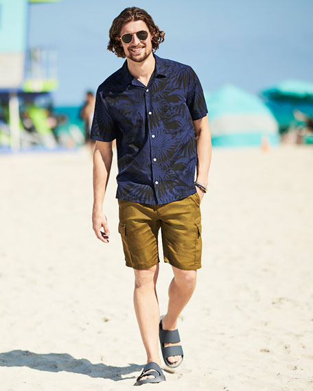 Men's Palm Leaf Cabana Shirt