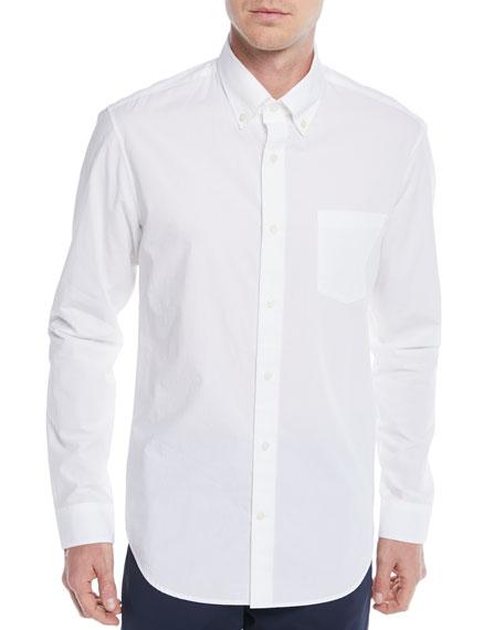 Vince Men's Poplin Pocket Sport Shirt
